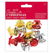 Create Christmas - Traditional Bells 12pcs