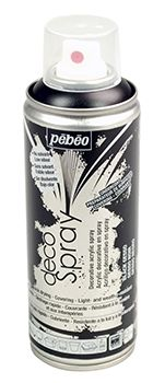 Pebeo Black Gesso 200ml Spray
