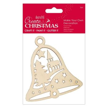 Make Your Own Decoration - Church Bell - Create Christmas