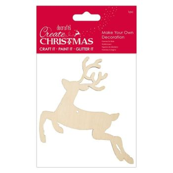 Make Your Own Decoration - Reindeer - Create Christmas