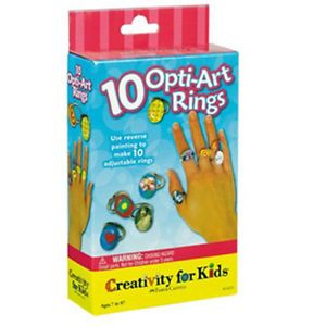 10 Opti Art Rings - Mini Kit