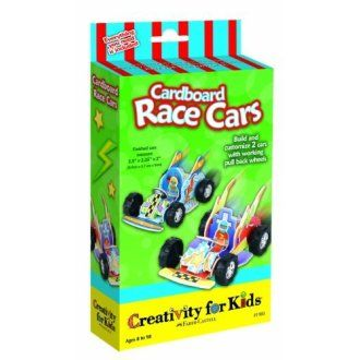 Cardboard Race Cars - Mini Kit
