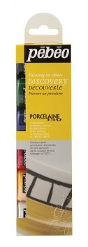 Pebeo Porcelaine 150 dicovery collection - 6 X 20ml