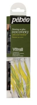 Pebeo Vitrail Discovery Collection - 6 X 20ml