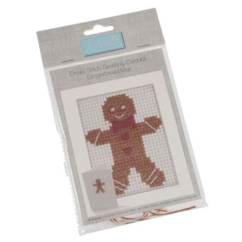 Gingerbread Man Card Kit