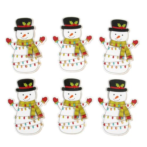 Trimits Festive Snowmen 6 Pieces