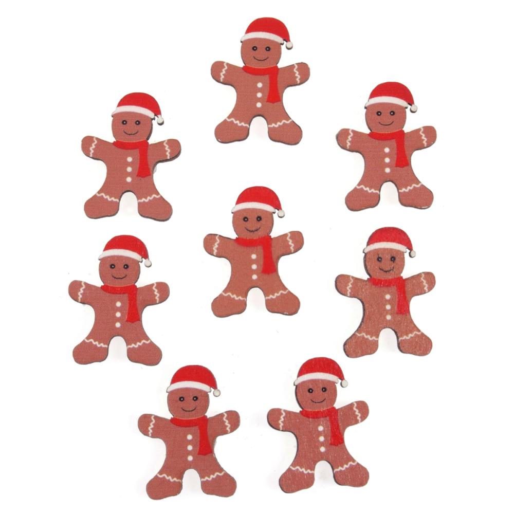 Trimits Gingerbread Man in Santa Hat 8 Pieces