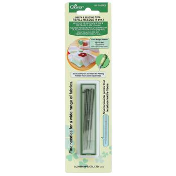 Clover Felting Tool Needle Refills, Fine