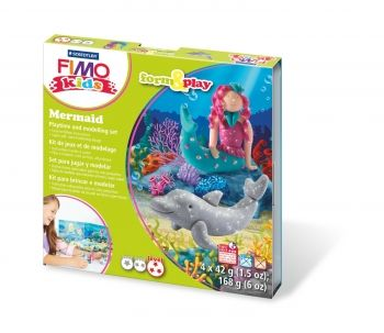 FIMO LZ Mermaid Form & Play Set