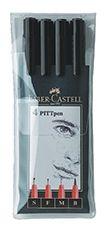Faber Castell PITT Artist Pen Wallet Black