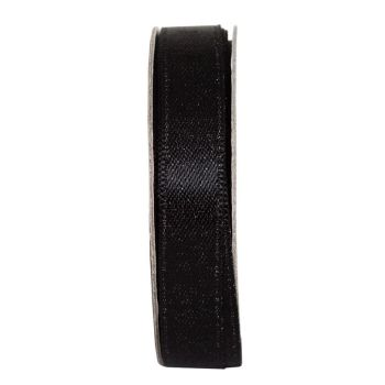 Everyday Ribbon 3m - Glitter Satin - Jet Black