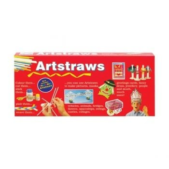 Artstraws - Red Box Long 300 Straws assorted colours