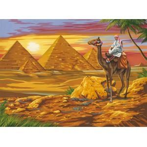 Reeves Egyptian Desert Large Paint by Numbers