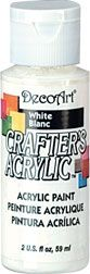 Deco Art White 01 59ml Crafters Acrylic