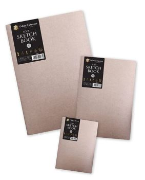 Collins & Davison A5 Soft sketch book Cream Pages