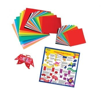 Origami Paper Medium 55 Sheets Assorted sizes/colours