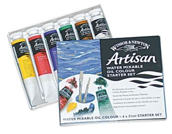 Winsor and Newton Artisan Starter Set- 6X21ML