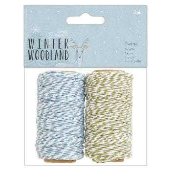 Twine 2pk - Winter Woodland