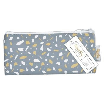 Pencil Case - Metallic Mono