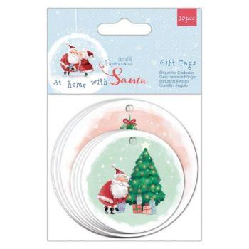 Shaped Gift Tags (20pk) - At Home with Santa