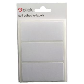 Blick White Label Bag 34x75mm