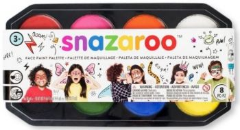 Snazaroo Professional Jumbo Palette Kit