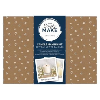Soy Candle Making Kit (6pk) - Simply Make - Votives