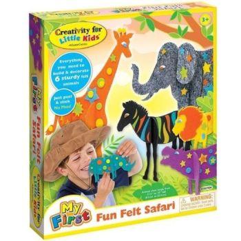 My first fun felt Safari
