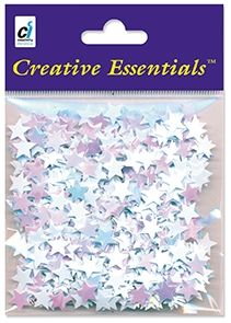 Craft Essentials - Iridescent Star Sequins