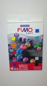 FIMO Soft 12 half Block Set