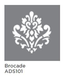 "Brocade 6""x6"" Americana® Decor(TM) Stencil"