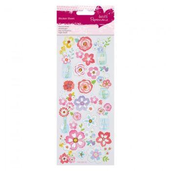 Foil Stickers - Flowers Jars