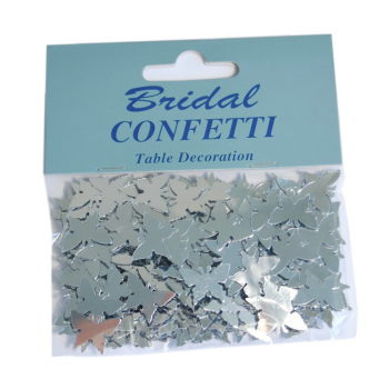 Confetti Butterfly Silver
