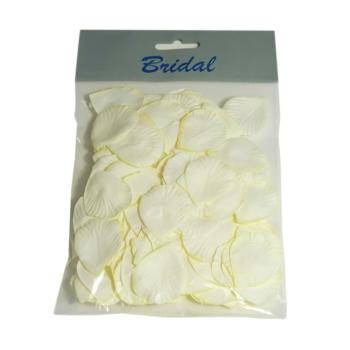 Paper Rose Petals Ivory
