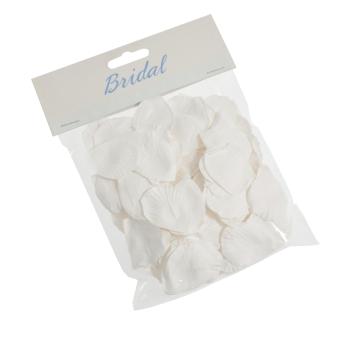 Paper Rose Petals White