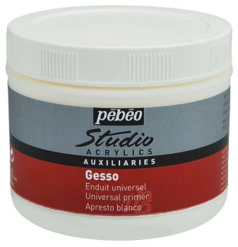 Pebeo Gesso Studio 500ml Jar