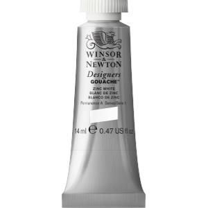 Winsor and Newton Designers Gouache 14ml - Zinc White