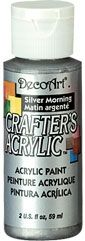 Deco Art Silver Morning 59ml Crafters Acrylic