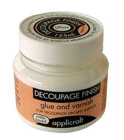 Decoupage Finish - Gloss 100ml by APPLICRAFT