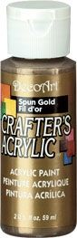 Deco Art Spun Gold 59ml Crafters Acrylic