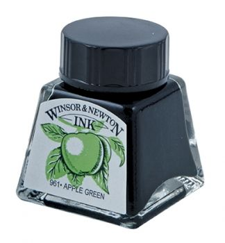 Winsor and Newton Ink - Apple Green