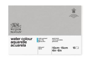 Winsor and Newton Postcard Classic 15 CP Watercolour Pad 300G