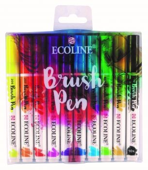 Ecoline Brushpen Set of 10