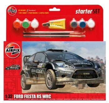 Airfix A55302 Ford Fiesta WRC Large Starter Set