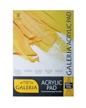 "Winsor and Newton Galeria Pad - 14"" X 10"""