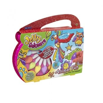 Jelly Stickers Animal Fun