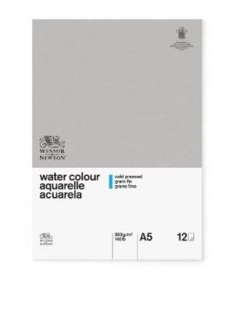 Winsor and Newton A5 Glued Classic 12SH CP Watercolour Pad
