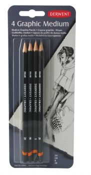 Derwent Graphic Designer Blister of 4 Medium