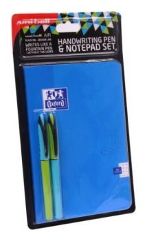 UNI Air Handwriting Pen and Notepad Set Blue A5