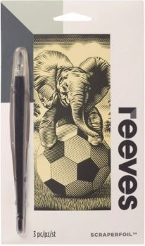 Reeves Elephant Mini Scraperfoil Gold